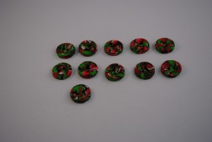 11 stuks 15 mm € 1.00 J p/s (Medium)