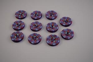 11 stuks 25 mm € 1.50 G (Medium)
