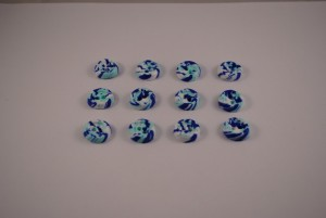 12 stuks 15 mm € 0.85 F (Medium)