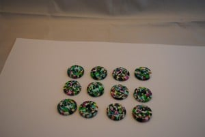 12 stuks 25 mm € 1.50 C (2) (Medium)