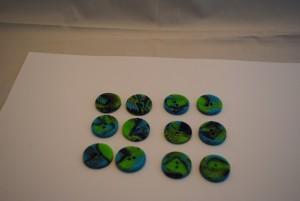 12 stuks 25 mm € 1.50 C (Medium)