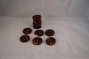 13 stuks 30 mm € 2.50 (Medium)