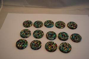 14 stuks 30 mm € 2.50 C (Medium)