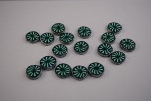 17 stuks 18 mm € 1.00 I p/s (Medium)