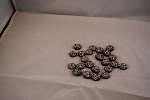 23 stuks 15 mm € 0.85 A (Medium)