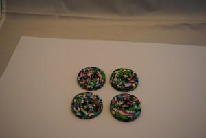 4 stuks 35 mm € 2.75 C (4) (Medium)