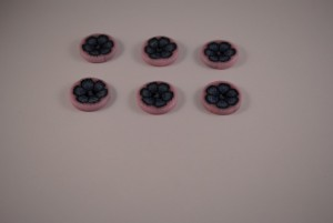 6 stuks 25 mm € 1.50 F (3) (Medium)