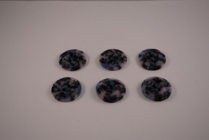 6 stuks 25 mm € 1.50 F (Medium)