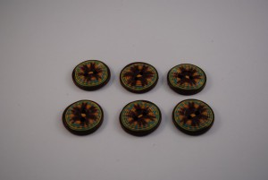 6 stuks 25 mm € 1.50 H ps (Medium)