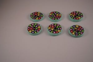6 stuks 30 mm € 2.50 D (Medium)