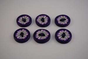 6 stuks 30 mm € 2.50 G (Medium)