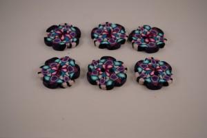 6 stuks 35 mm Bloem € 2.75 E (Medium)
