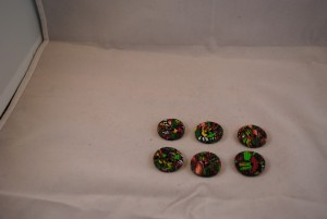 6 stuks 25 mm € 1.50 A (Medium)